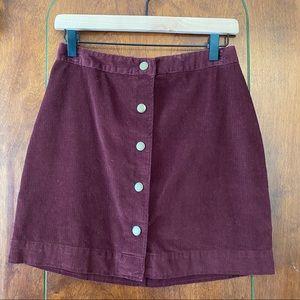 Old Navy Corduroy Skirt